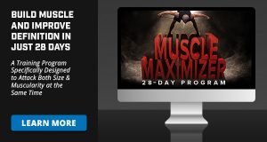 Building better muscle definition with 28 Day Muscle Maximizer