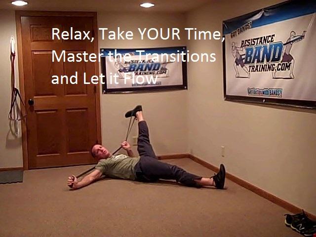 band stretching