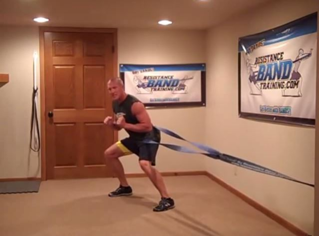 Heavy Resistance Band Workout