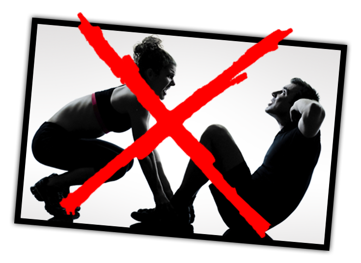 No situp - usable abs