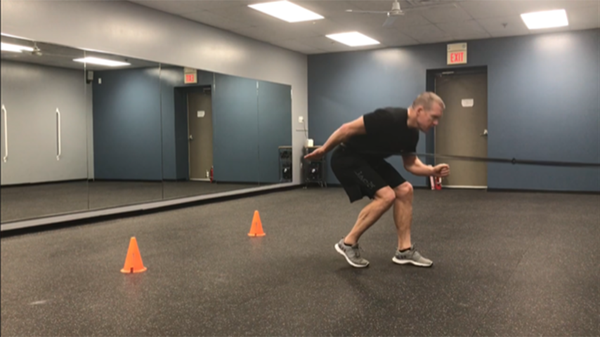 Band First Step Acceleration Workout