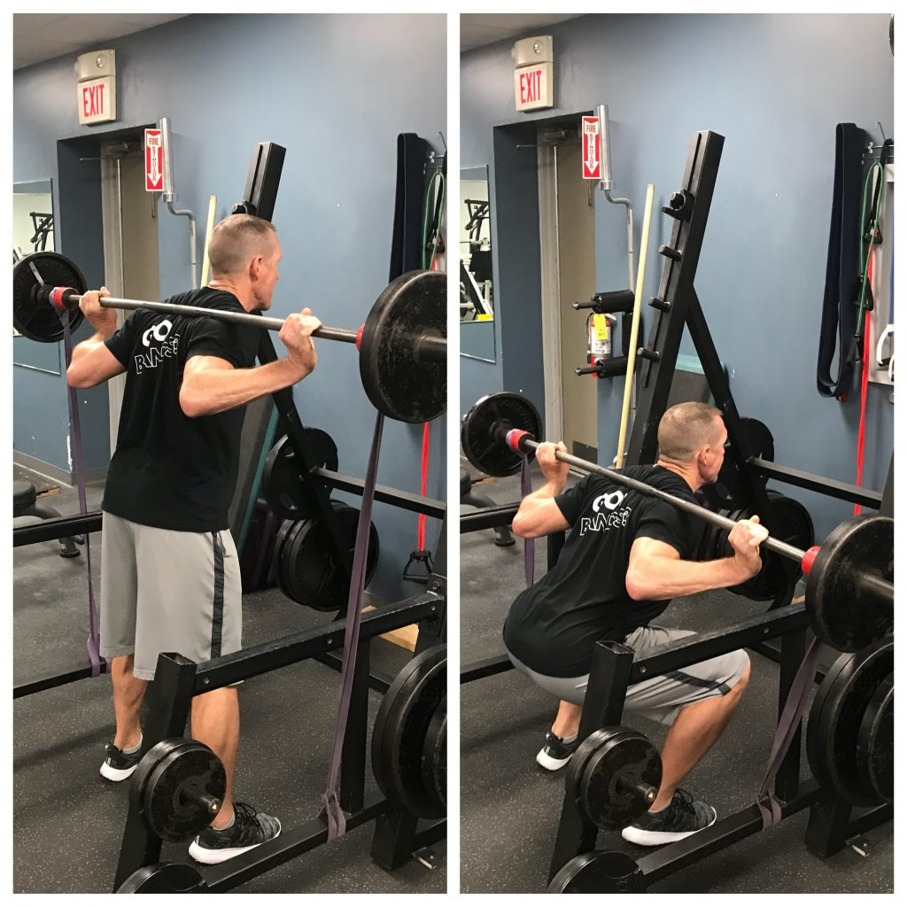 BackSquat - strength training