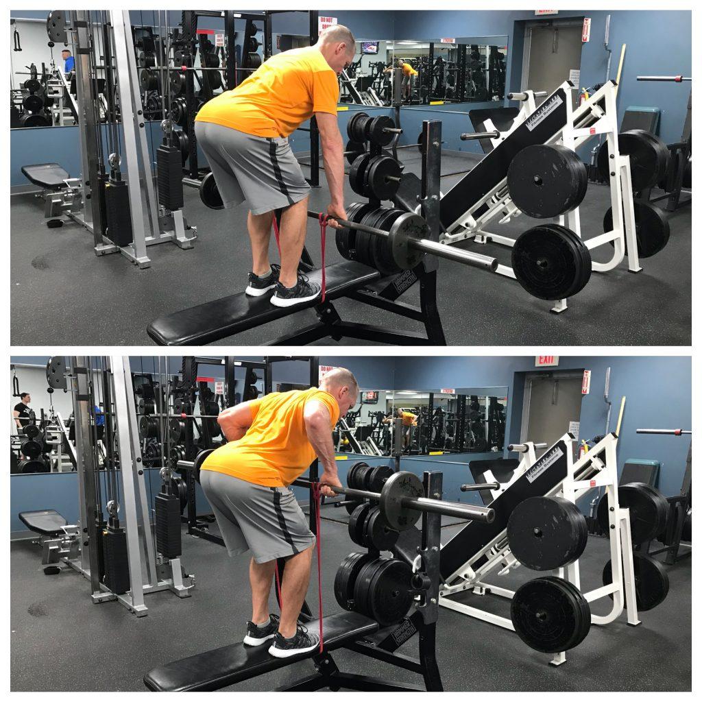 Bentover Row - strength training