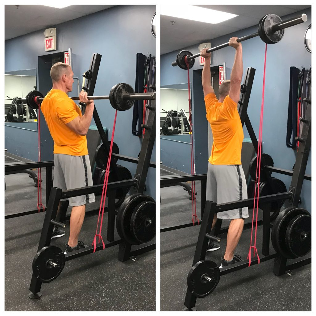 Push Press - strength training