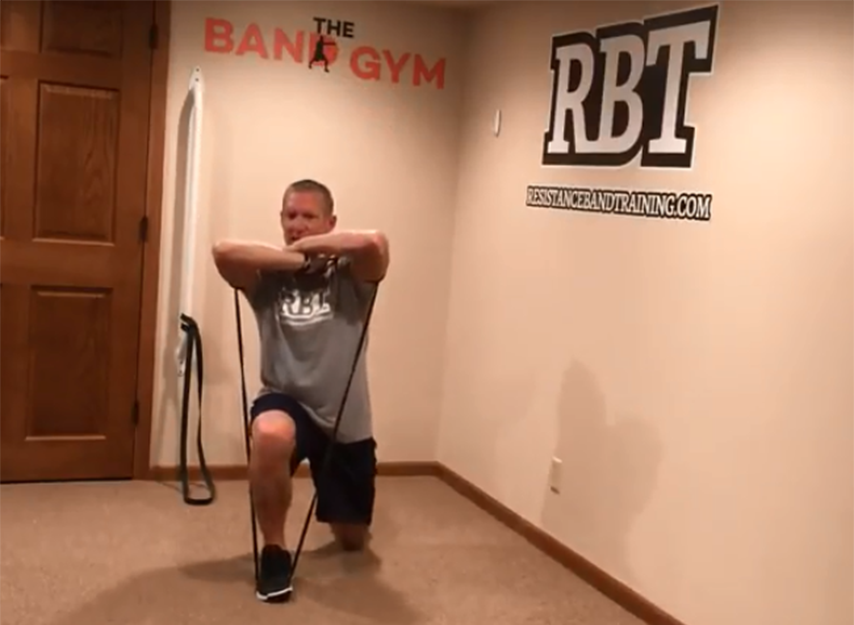 Reverse Lung - Stretch-strength workout