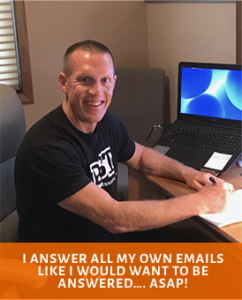 Dave answering emails about building better muscle definition