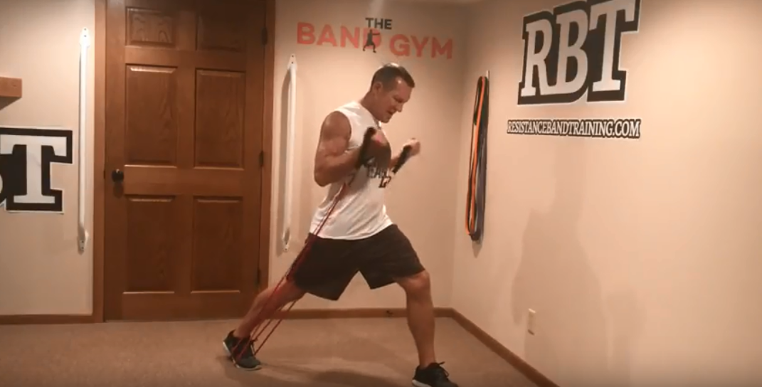 4 Way Band Arm Workout