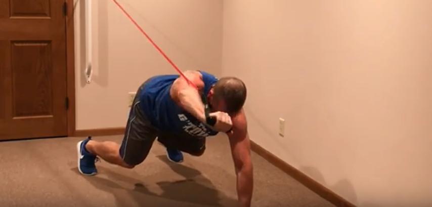 shoulder press workout