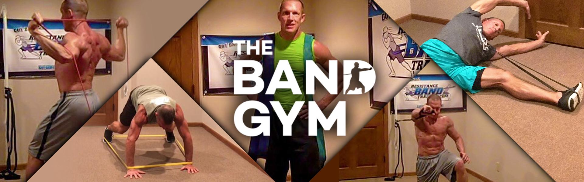 Band Gym Header - Resistance Band Training