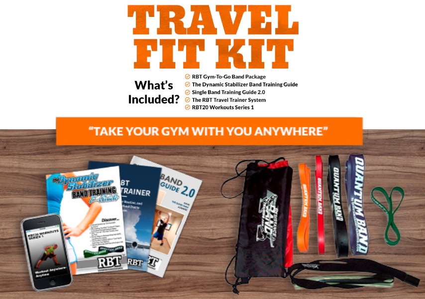RBT Travel Fit Kit