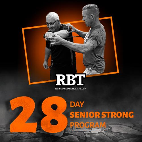 NEW SeniorSTRONG 28 Day Strength Building Program - Resistance Band Training